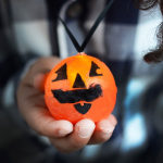 DIY tech: A Halloween pumpkin light necklace