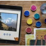 The Brushstroke app will have you looking for gallery space.