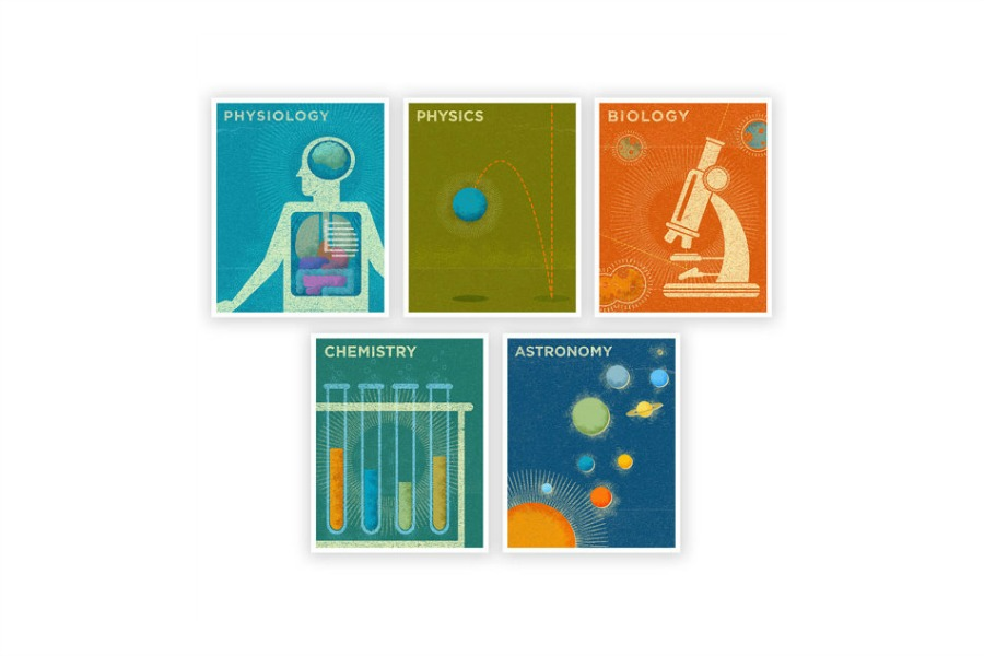 Cool Science Art prints on Cool Mom Tech
