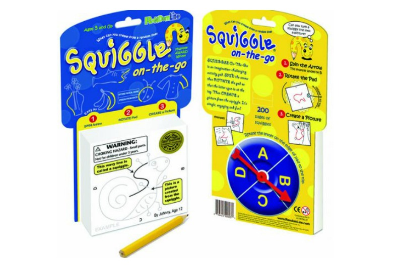 Squiggle it, just a little bit