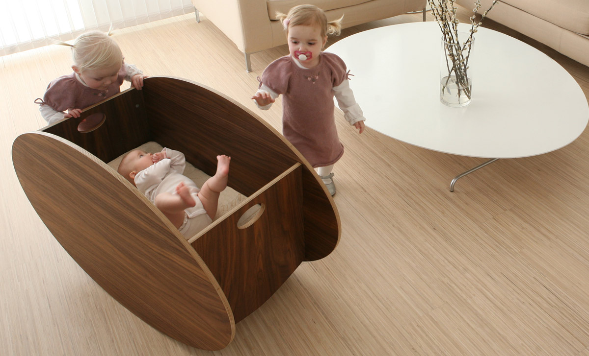 A cradle that will rock more than your baby