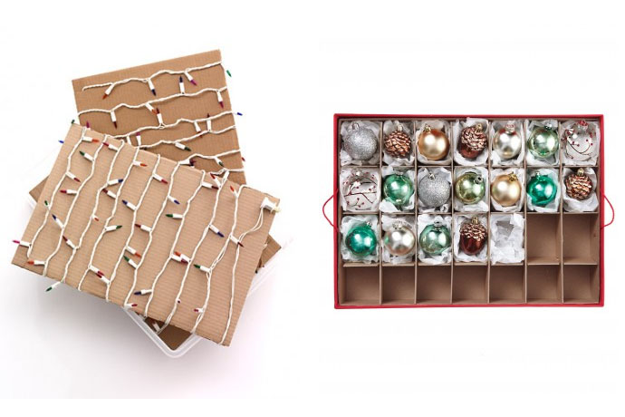 Undeck the halls: Tips for taking down the Christmas decorations. Sniff.