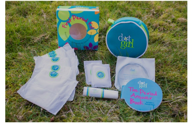 The Dot Girl First Period Kit: a lifesaver for moms of tween girls