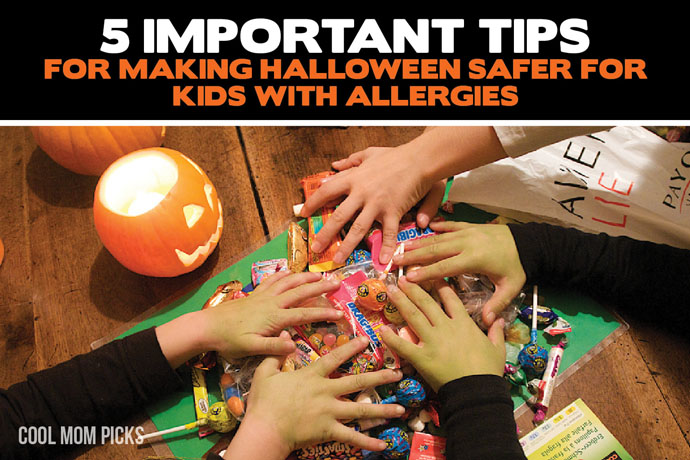5 tips for making Halloween safer for kids with peanut and tree nut allergies