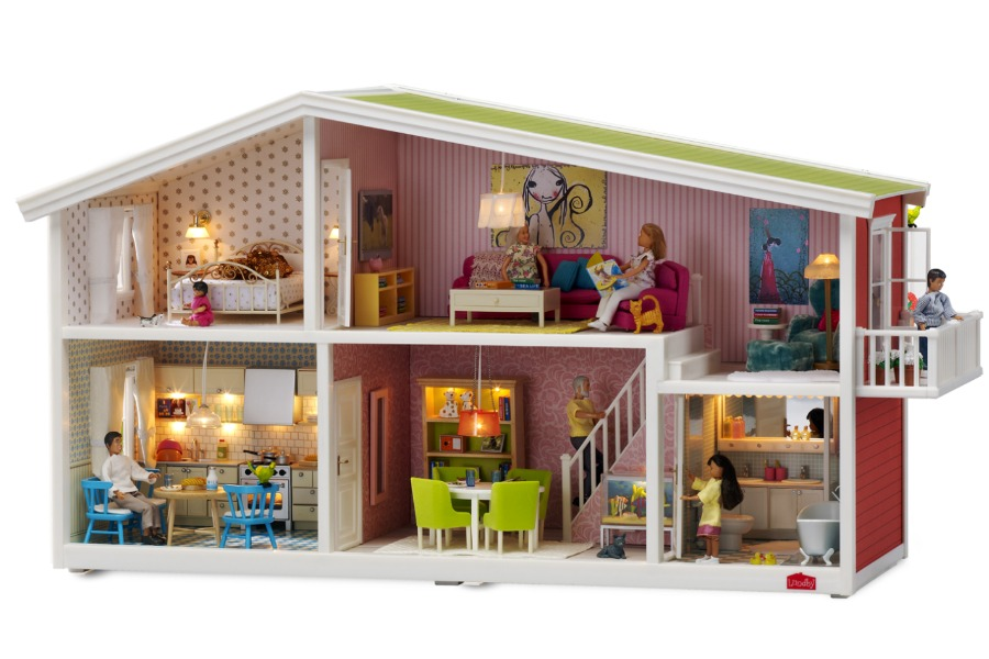 Lundby Dollhouses: the perfect combination of imagination, technology and DIY