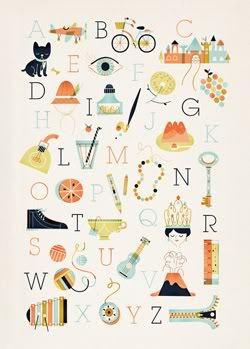 A poster that's fabulous from A to Z