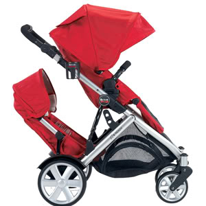The Britax B-READY – My mid-toddler crisis stroller, in candy-apple red