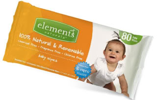 Natural baby wipes take care of babies and their home planet
