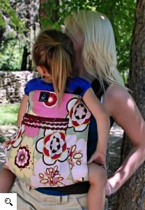 A shout-out to the liger of the babywearing world