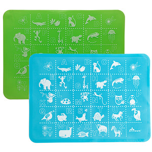 Adorable kids placemats that put the newt in nutrition