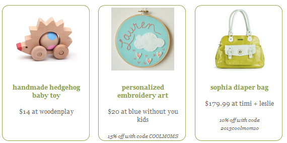 Gift guide 2013 introducing the 2013 cool mom picks baby shower gift guide fandeluxe Choice Image