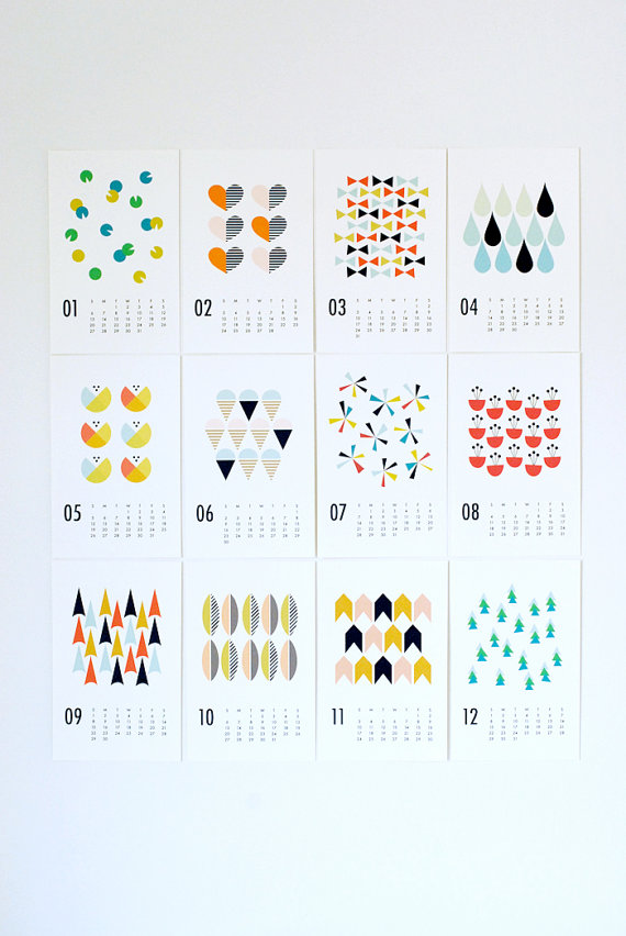 The prettiest 2013 calendars for the prettiest walls