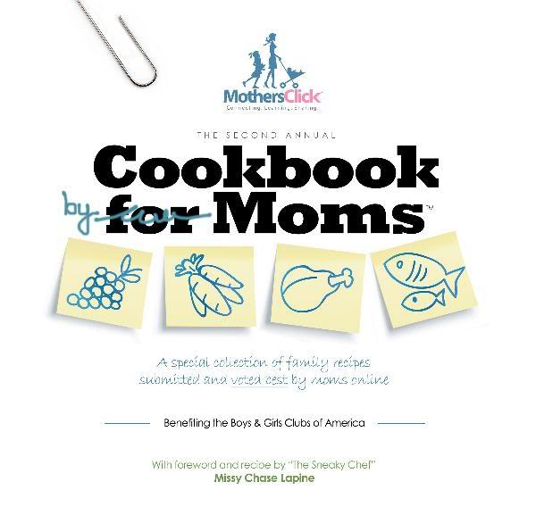 A Cookbook For Moms, By Moms, So You Know There's No Twinkie Casseroles in There