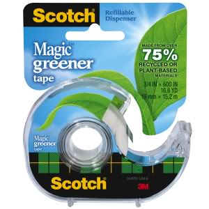 Scotch Tape gets greener and so do the holidays