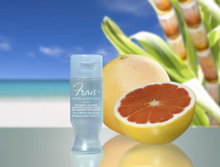 Hand sanitizer that smells like a spa, not a distillery
