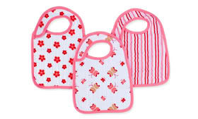 From the makers of the cutest swaddlers come the cutest baby bibs