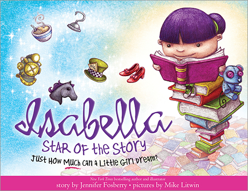 Read much and dream big with Isabella: Star Of The Story