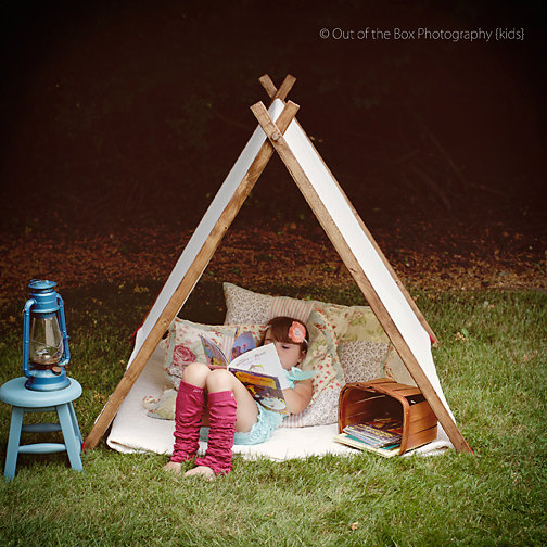 Tired of sheets draped across your dining room table? 3 beautiful indoor play tents that will save the day.