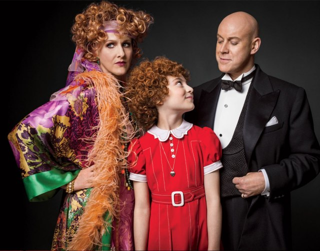 Annie the Musical is back on Broadway! The sun is out, people.
