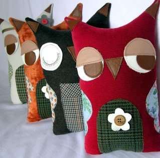 Whoo makes the cutest owl softies? (Heh, sorry)