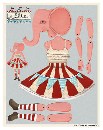 The most spectacular vintage paper dolls. We want them all!
