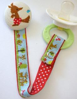 Pacifier clips so cute you'll kind of hope your baby takes a pacifier