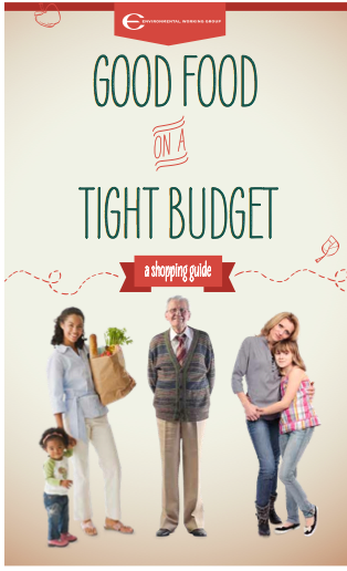 Good Food on a Tight Budget, EWG's new shopping guide