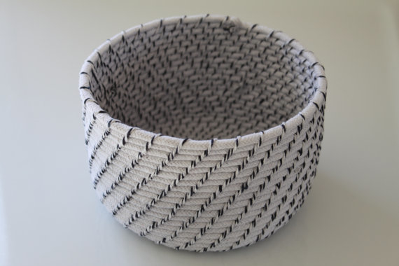 Handmade baskets so pretty you might be surprised what for Waste material decorative things