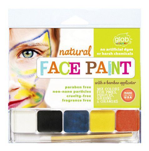 Non-toxic face paint for Halloween? We've got your witches and zombies covered.