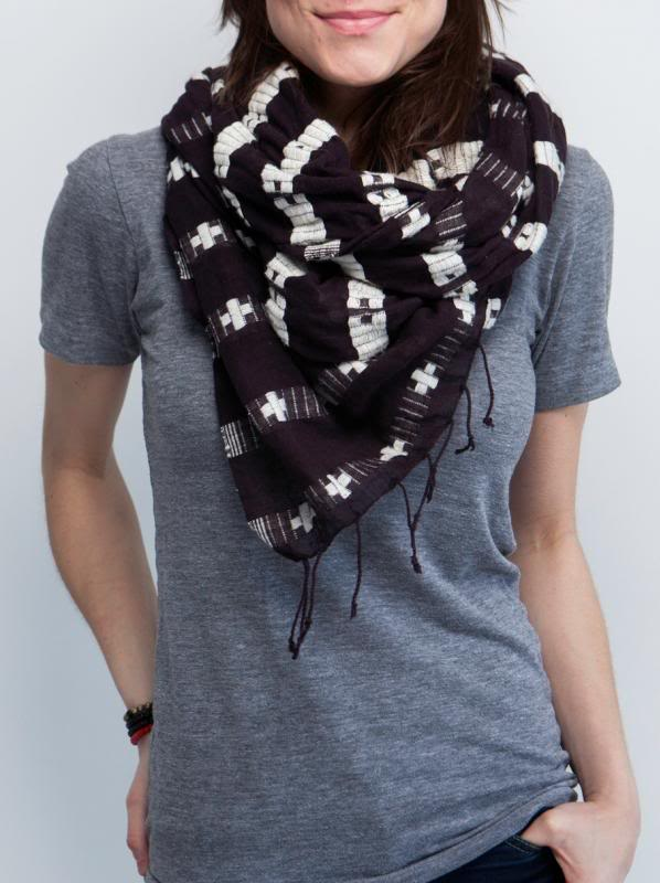 A beautiful scarf to do beautiful things for mothers. Not just the ones who wear it.