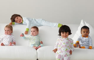 Some of the very best baby pajamas, now in some of the very best prints