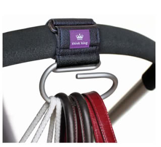 The latest stroller accessory is off the hook