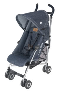 The Maclaren Denim Quest stroller – James Dean would be proud