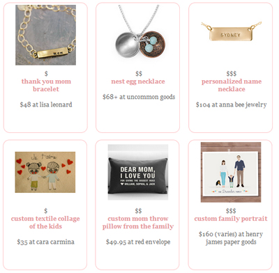 It's here! Our 2013 Mother's Day Gift Guide!