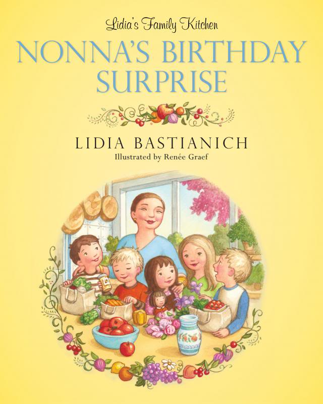 Lidia Bastianich introduces a lovely book for future foodies