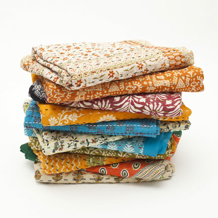 Sweet dreams are made of these: handmade summer quilts