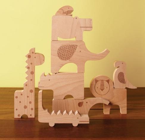 Wonderful wooden blocks for multitasking kids