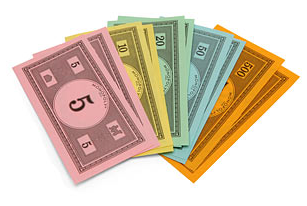 Wouldn't it be great if all the Monopoly money were real?