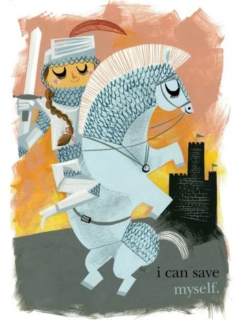 Not all princesses need saving