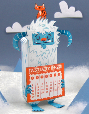 Web coolness – printable calendars, New Year's resolutions, and other ways to start your year off right