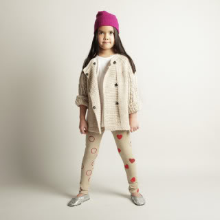 Stylish leggings that your daughter will love. Because she made them.
