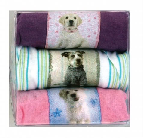 Let puppies take over your kids' underwear