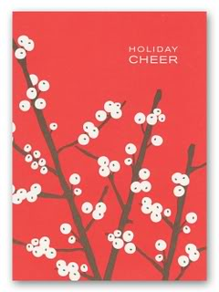 Berry beautiful holiday cards