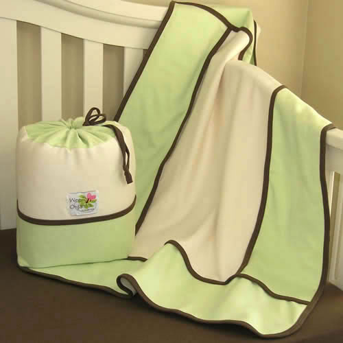 Organic crib bedding to grow with