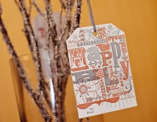 Gorgeous holiday tags that also help feed hungry kids