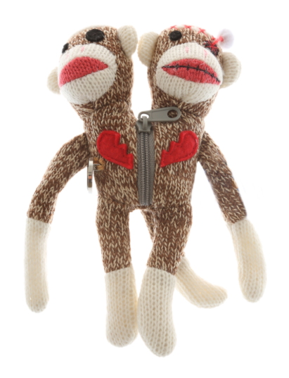 Good mojo from yarn zombies? We're in, especially if it includes sock monkeys.