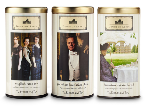 Downton Abbey teas: A holiday gift of which even Lady Grantham would approve.