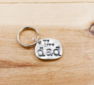 5 cool personalized key chains for Father's Day