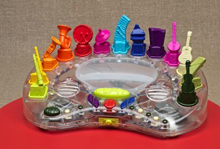 Toys that make beautiful music