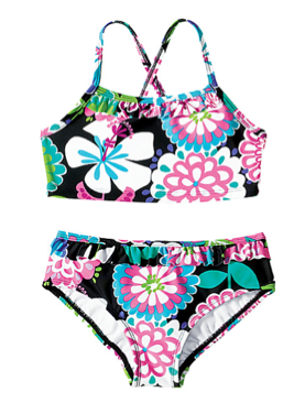 And now, all the cute kids' swimsuits go on sale